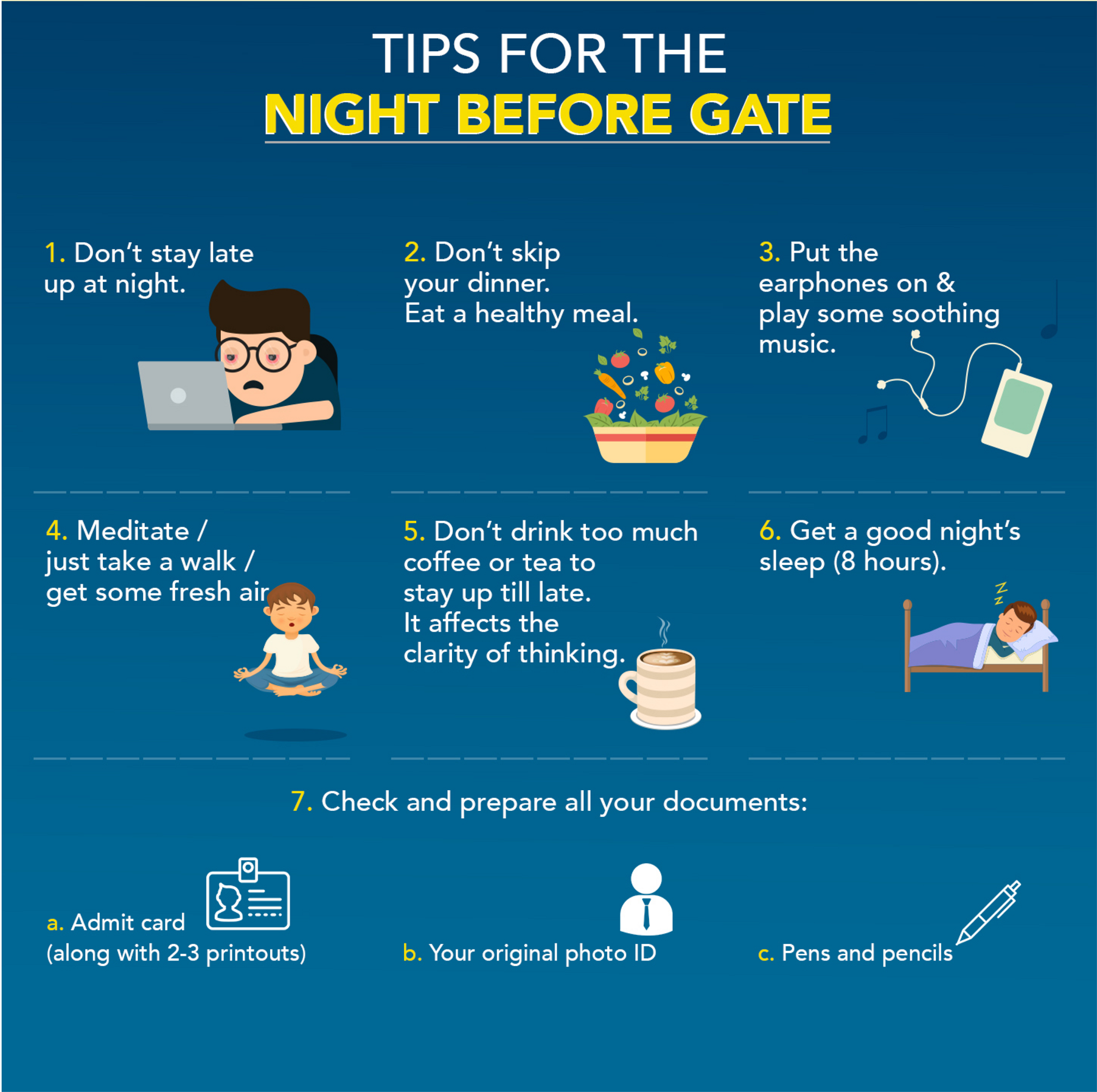 Last Minute Tips & Tricks for GATE Exam - Gateforum